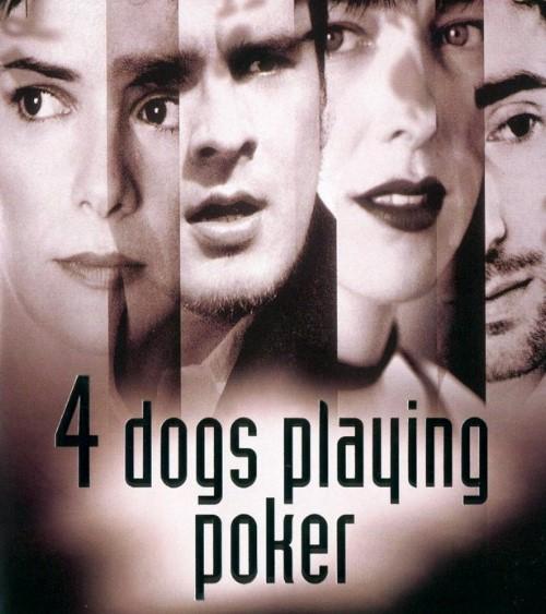 Чотири собаки в грі в покер (Four dogs playing poker)